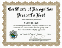Voted Best Office Supply Store Prescott, AZ